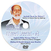 Cover dvd Ahmed Deedat #2